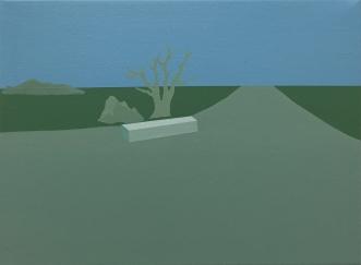 40.5 x 30.5 cm, acrylic on canvas, 2015